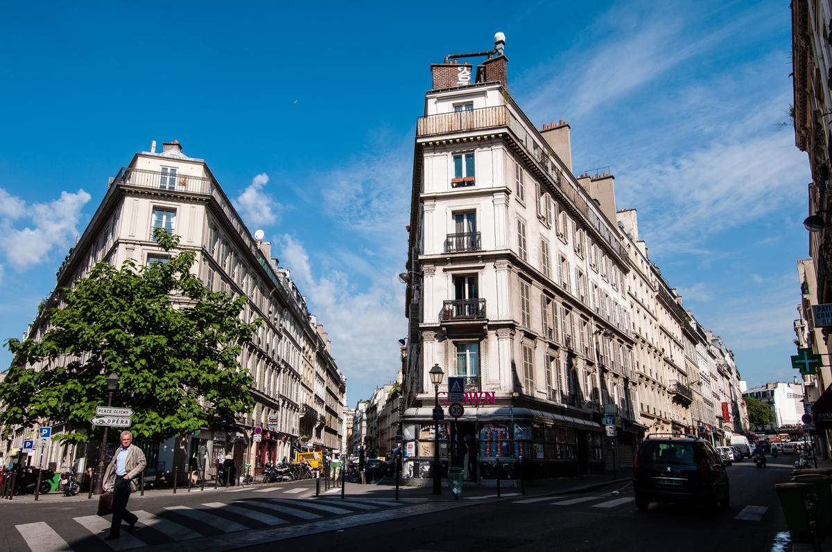 La rue Pierre Fontaine
