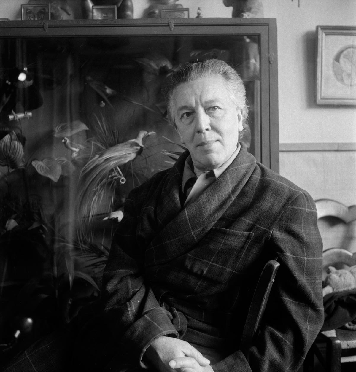 André Breton (1896-1966), écrivain français.