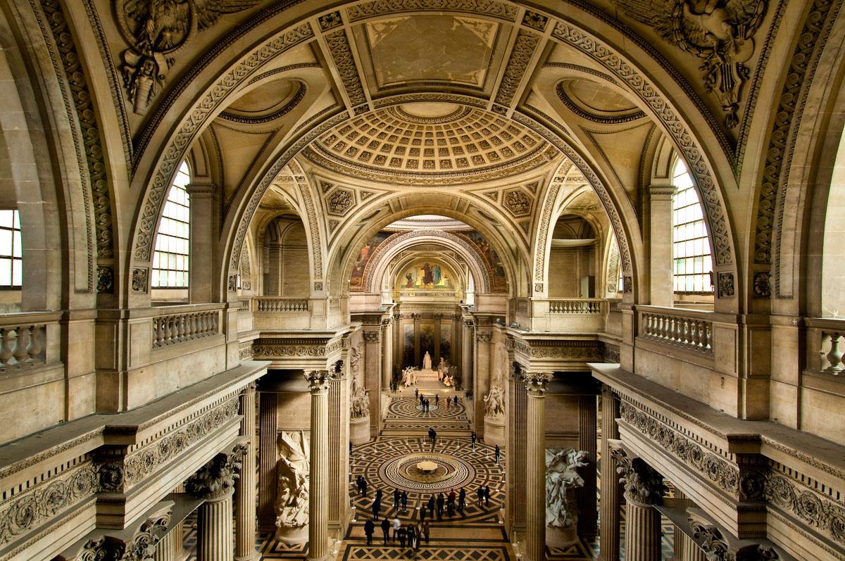la Panthéon (5e)