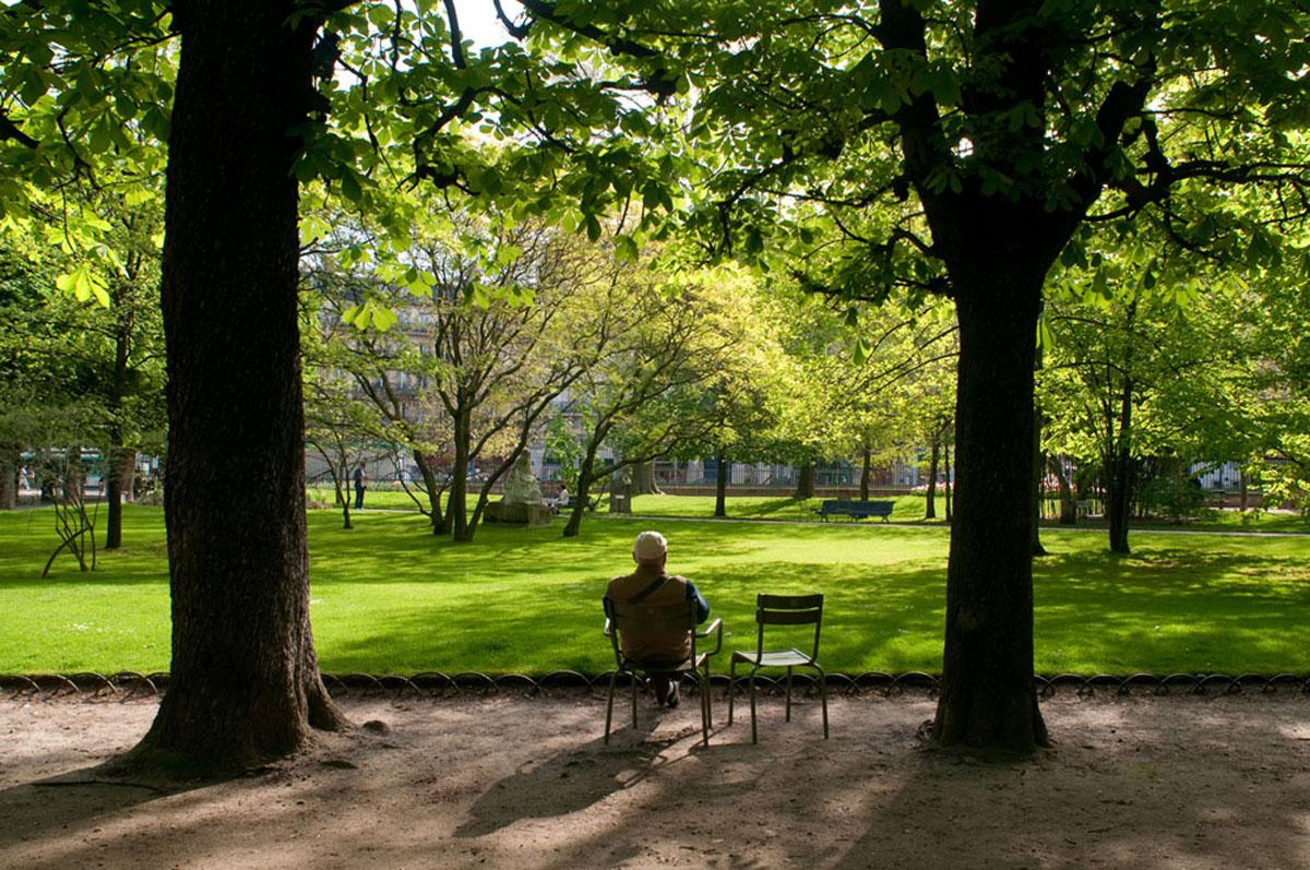 Le jardin du Luxembourg (6e)