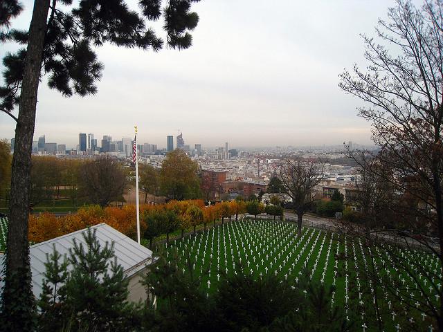 Le Mont Valérien et son cimetière américain