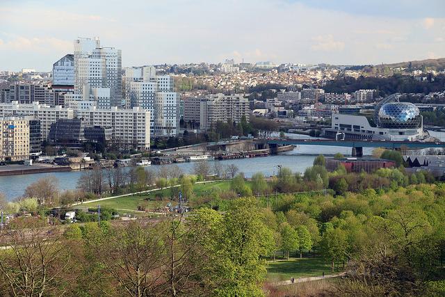 L'une des nombreuses vues depuis le parc de Saint-Cloud