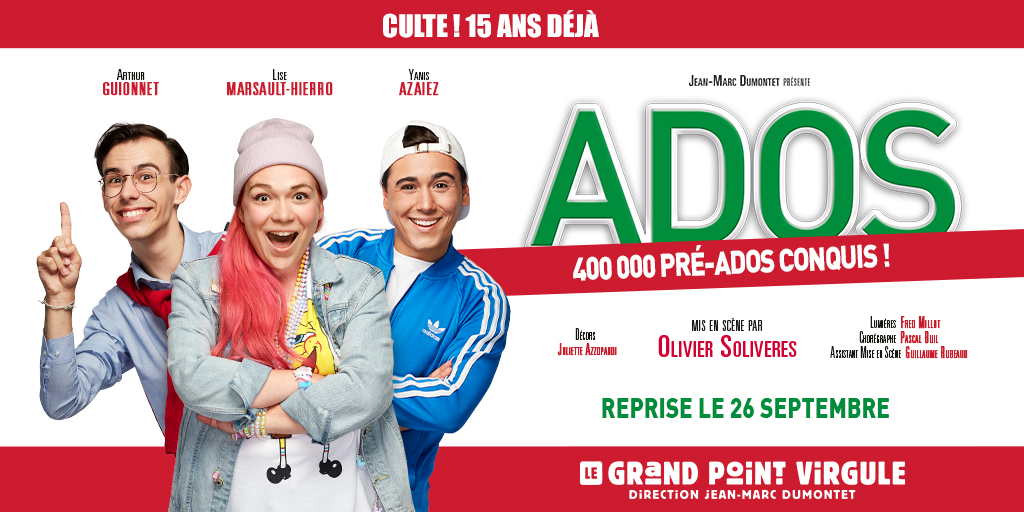 Les Ados au Grand Point Virgule