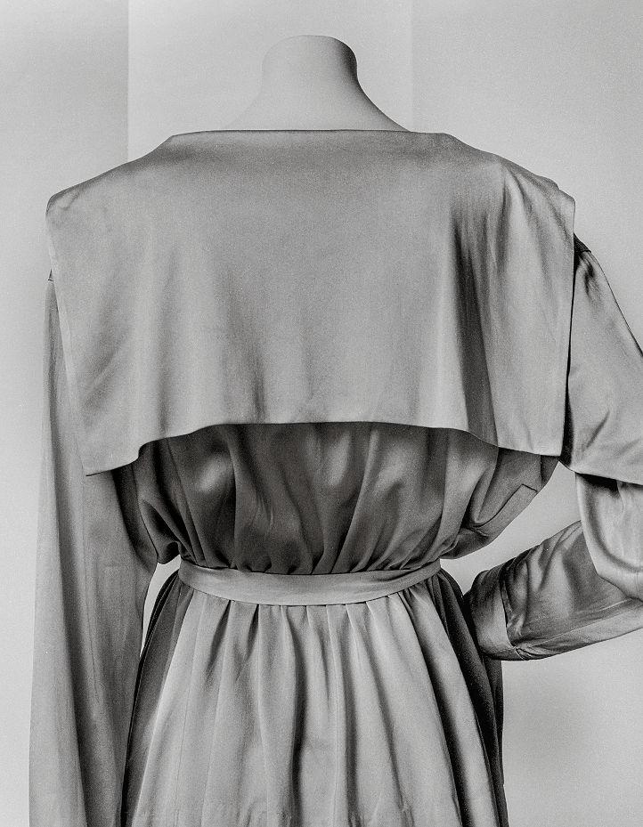 Camisa bretona, verano 1916 Jersey de seda marfil Camisa marinera, Verano 1916 Jersey de seda marfil París, herencia CHANEL