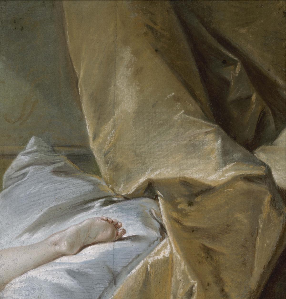 François Boucher (1703-1770) Etude de pied pour l'Odalisque blonde , vers 1751-1752 Paris, Musée Carnavalet - Histoire de Paris