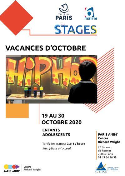 Stages vacances jeunes