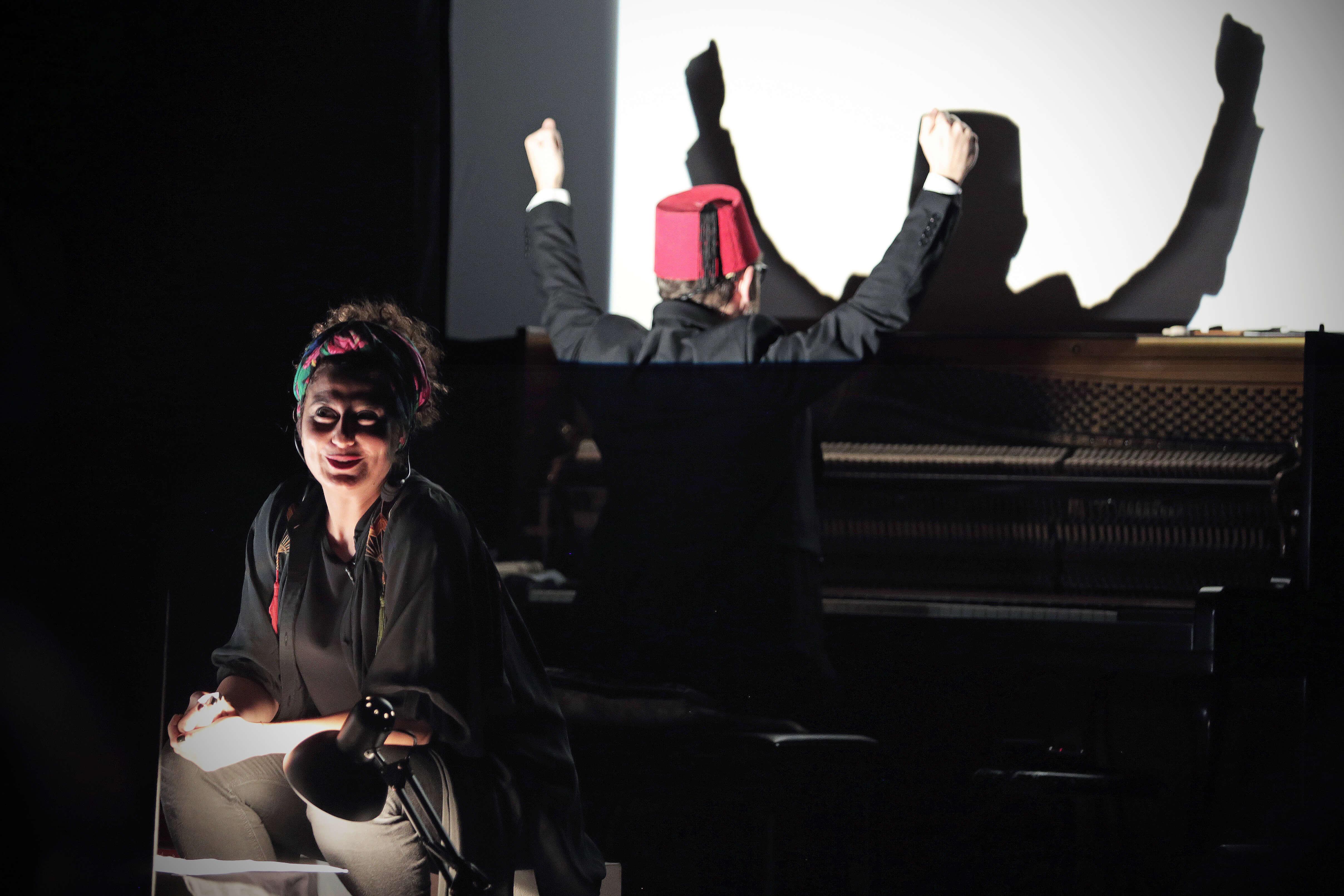 Piano oriental, lecture dessinée