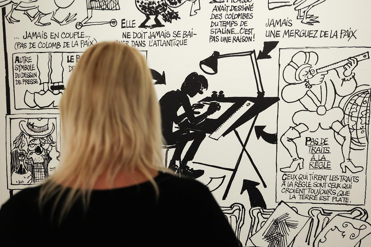 """exposition """"Le Rire de Cabu"""" à l'Hôtel de Ville"""