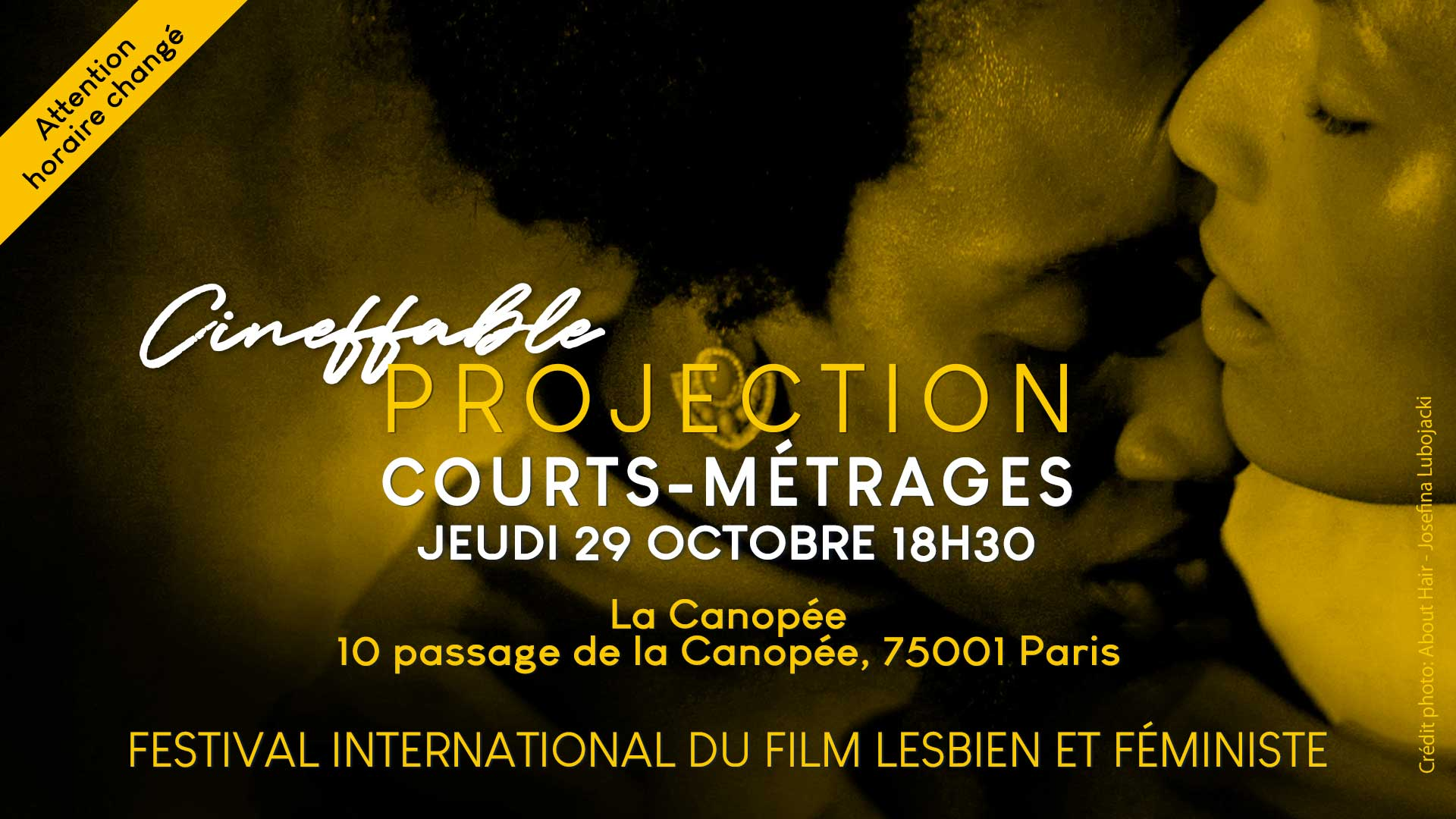 Projection : courts-métrages du festival Cineffable |
