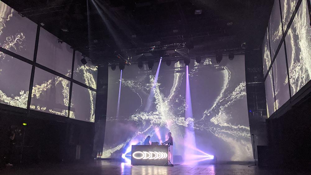 Underscope, Flore & WSK live A/V