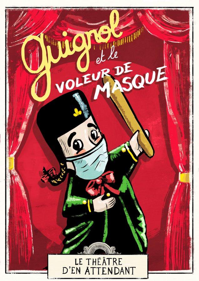 Guignol et le voleur de masque