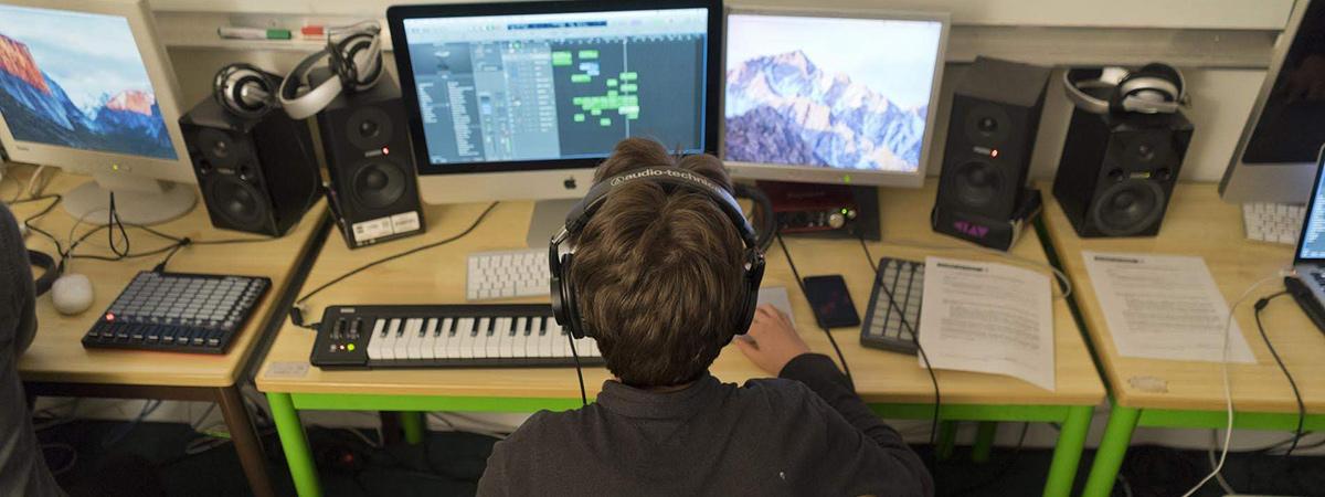 ¡Crea tus producciones musicales!