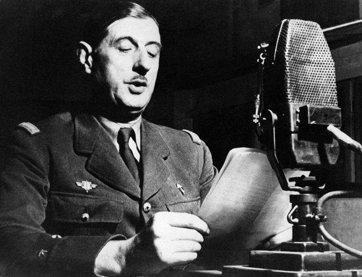 De Gaulle lance l'appel du 18 juin 1940, Londres