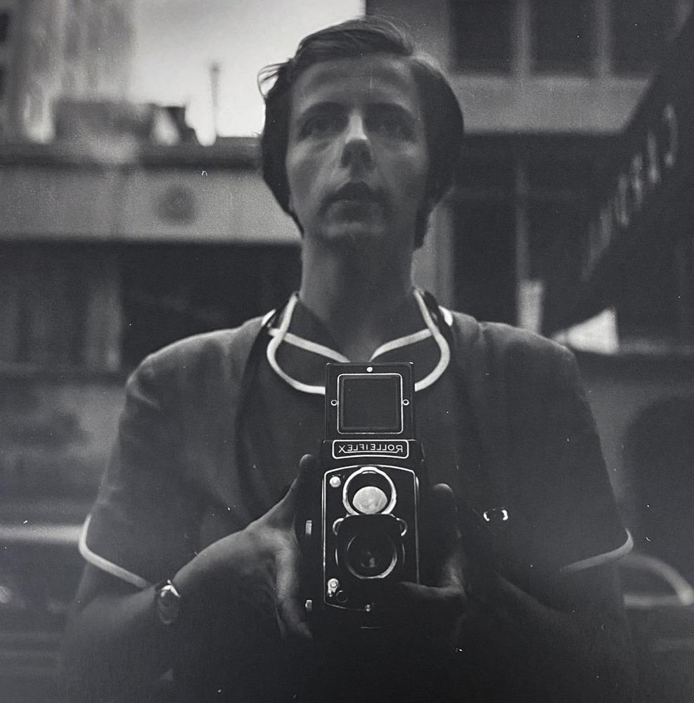 Self-portrait, New York, NY, 1954