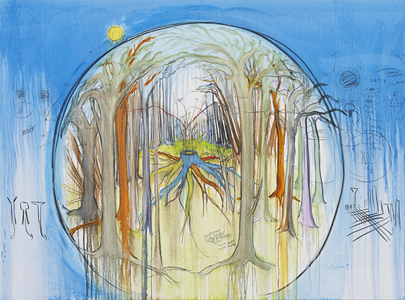 Fabrice Hyber - Habiter la forêt