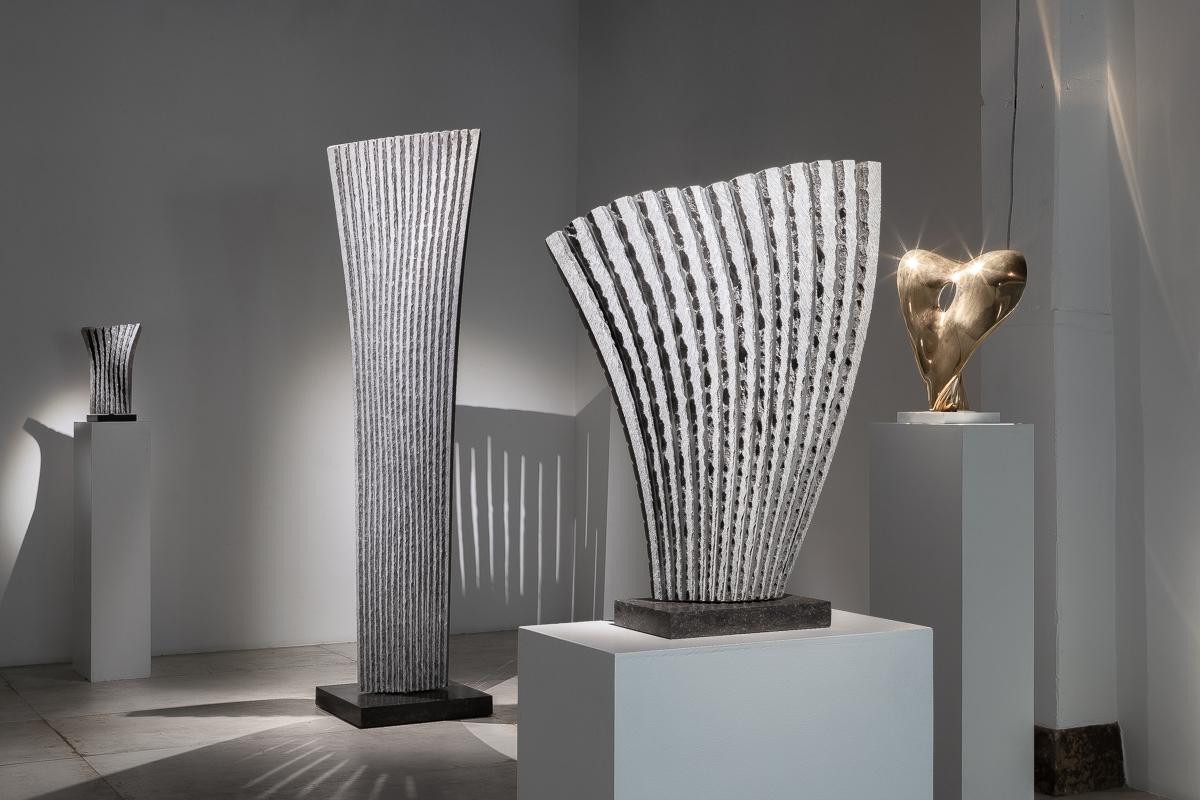 """Benoît LUYCKX """"Être en Nature"""" sculptures"""