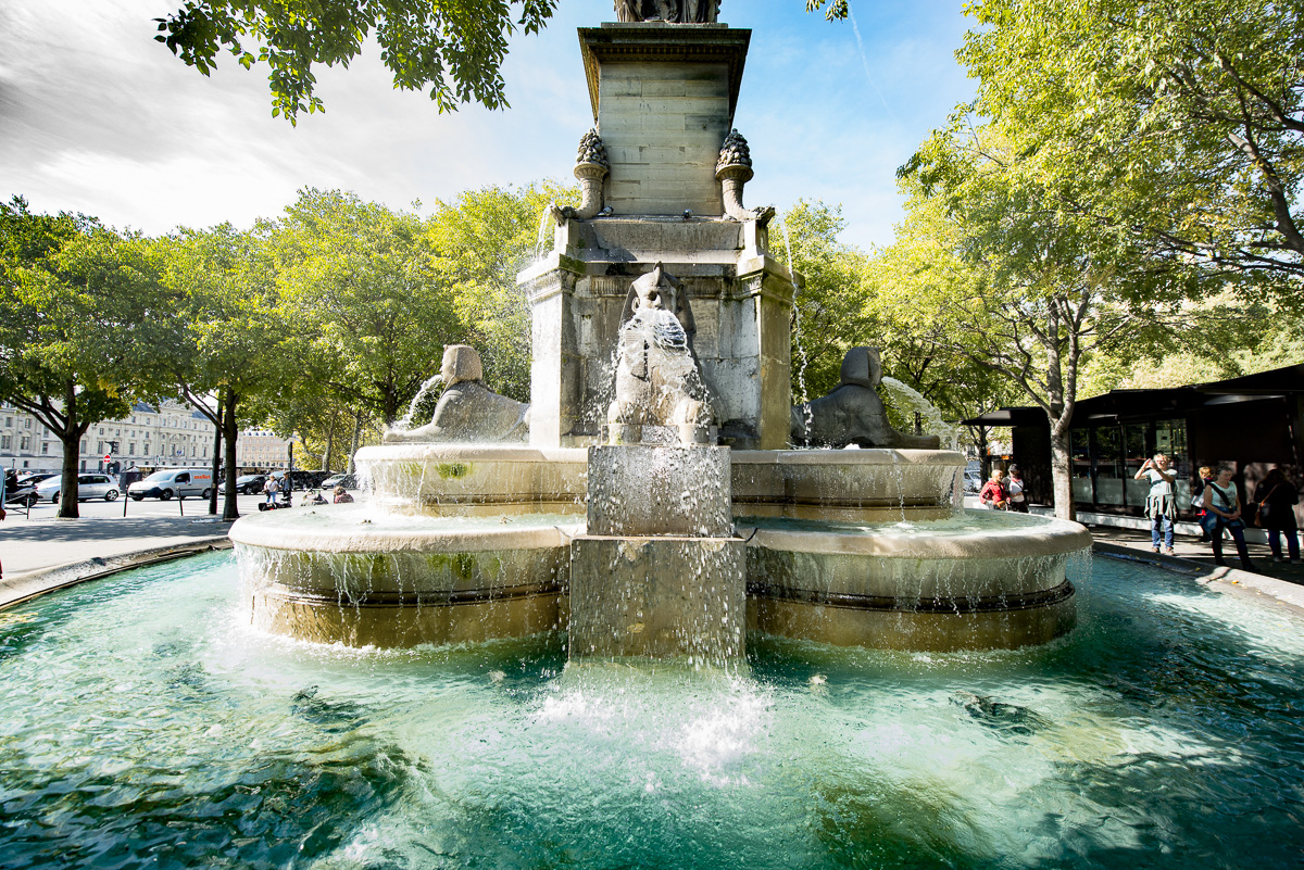 Fontaine du Chatelet