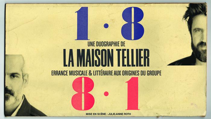 Lecture musicale en live sur Internet par La Maison Tellier |