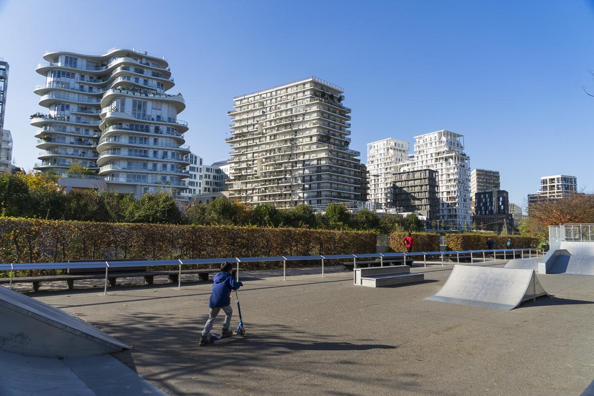 Parque Clichy Batignolles