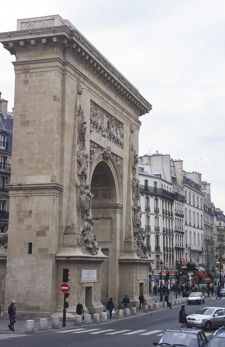 Arc de la Porte Saint-Denis