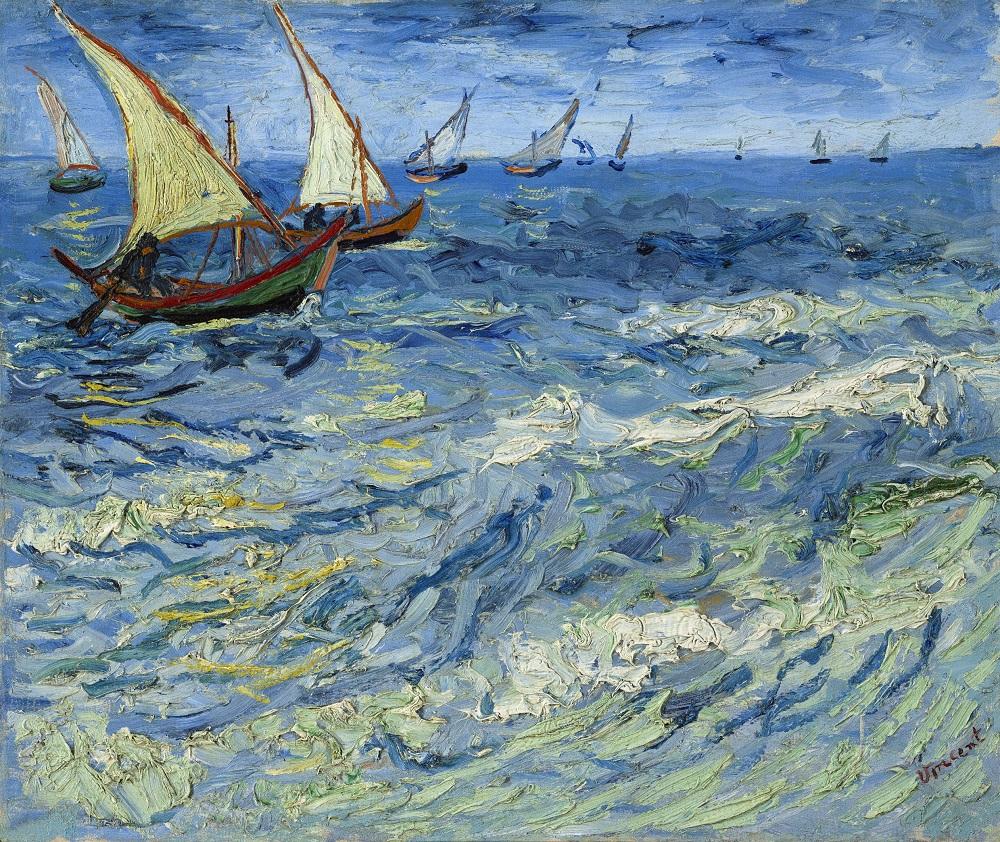 La Mer aux Saintes-Maries, 1888