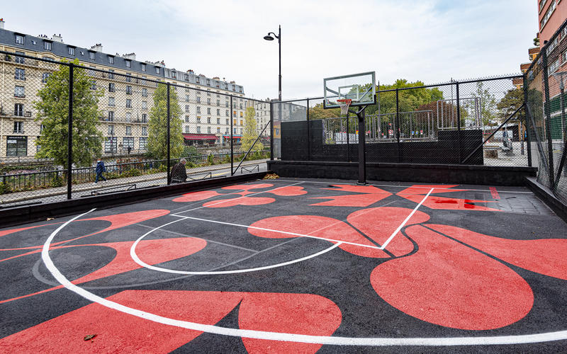 Cancha de baloncesto Jemmapes