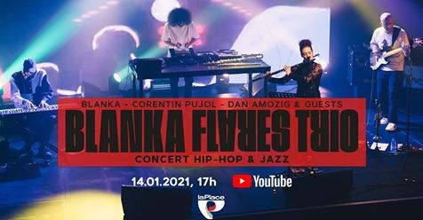 Blanka Flares Trio (concert hip-hop/jazz)