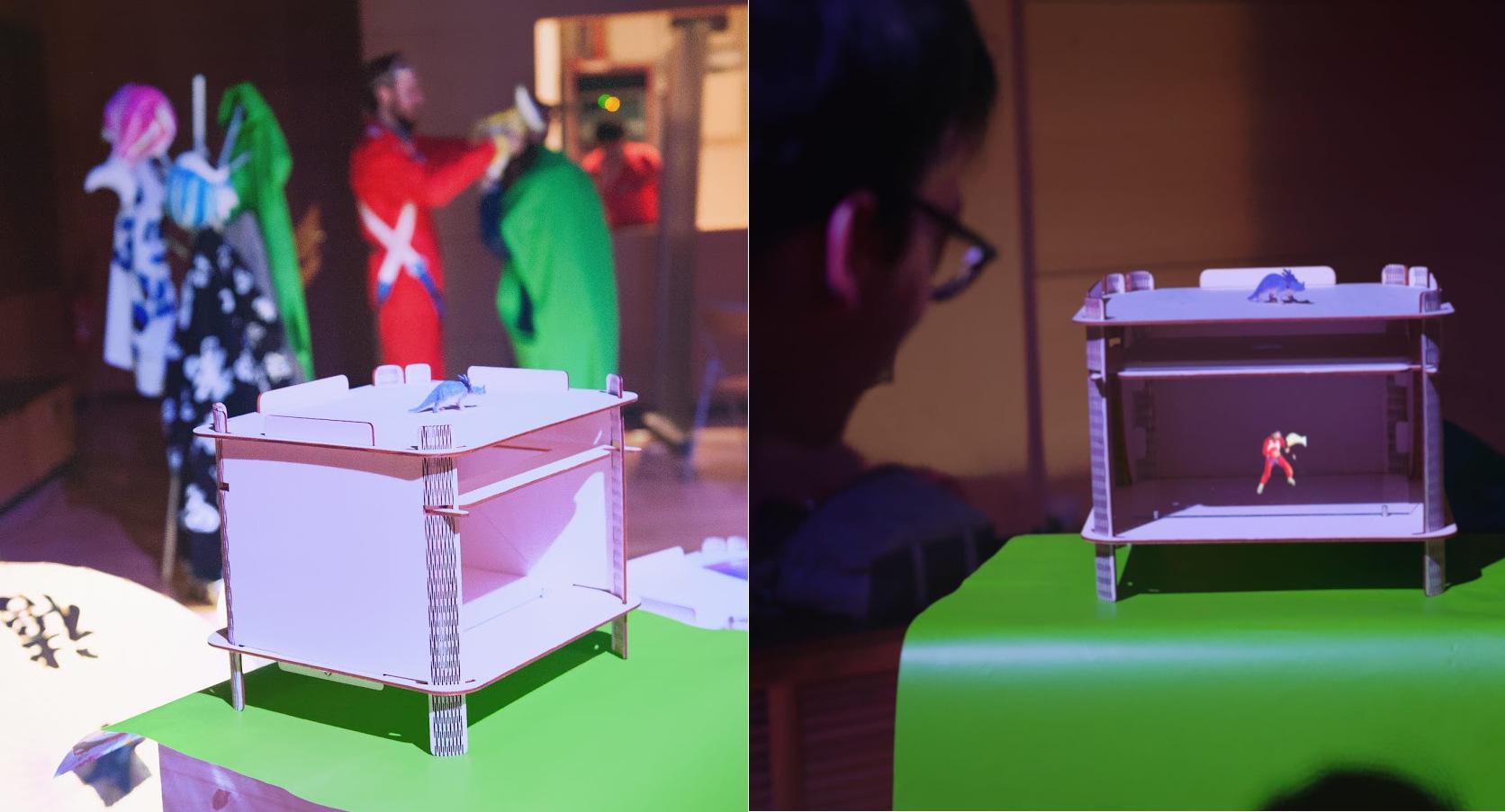 Atelier numérique Holophore |