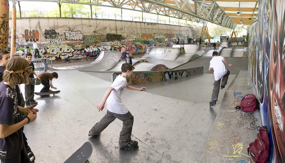 Parque de patinaje de Bercy
