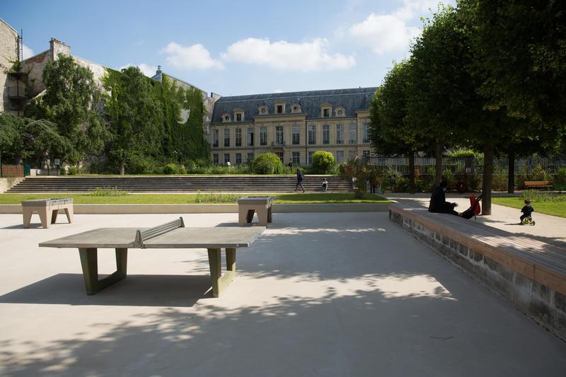 ping pong Jardin des arts