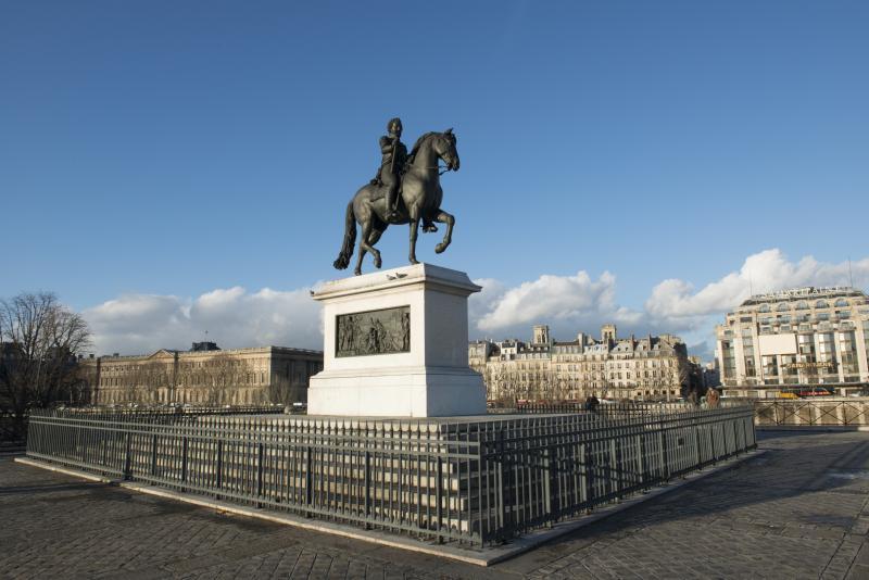 Estatua Henri IV pont neuf