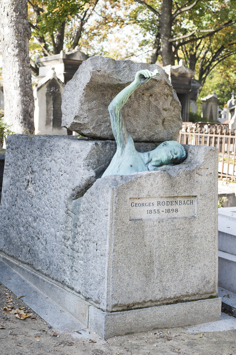 Tombe Georges Rodenbach / Père Lachaise.