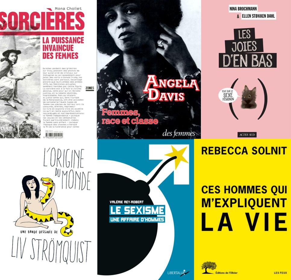 20 livres féministes à emprunter dans les bibliothèques