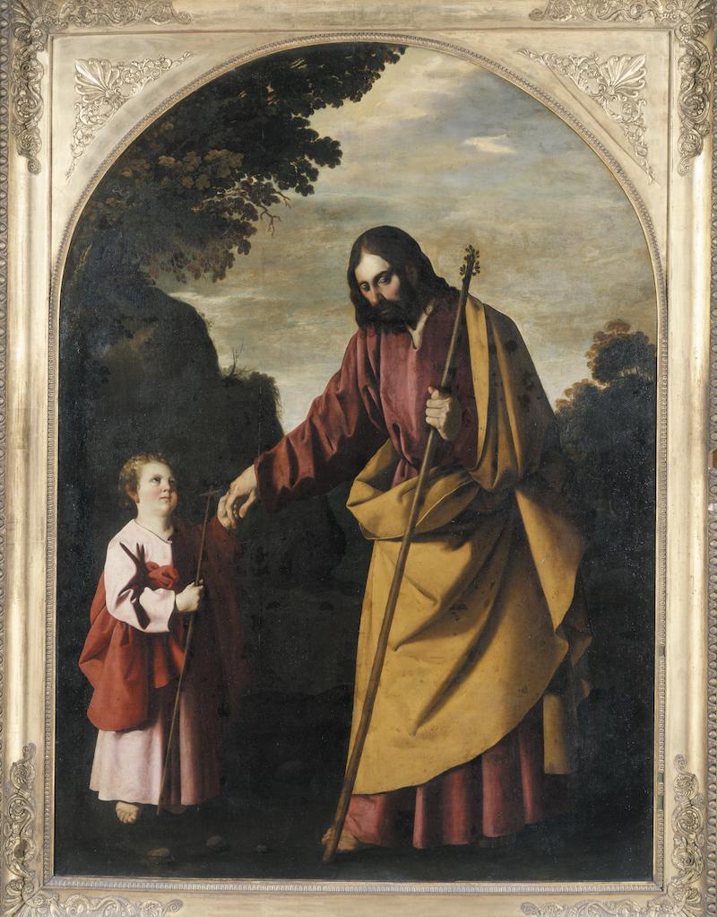 La promenade de l'Enfant Jésus - Francisco de Zurbarán