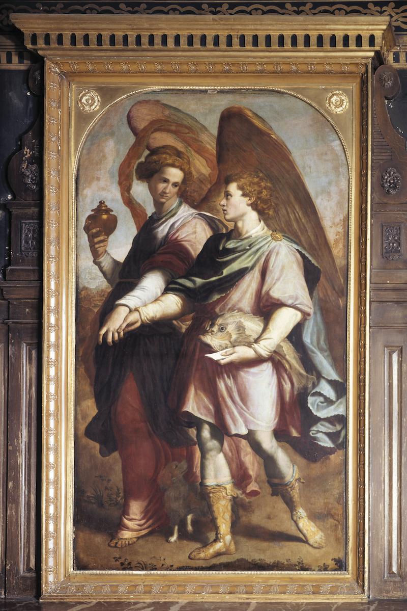 Tobie et l'ange - Santi di Tito
