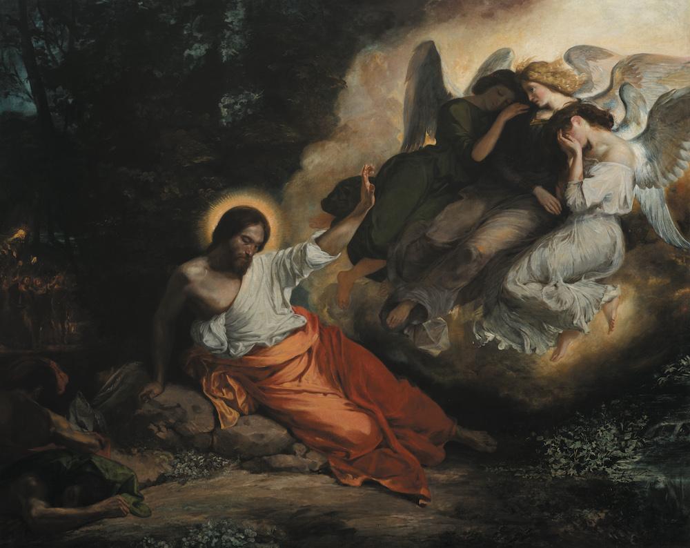 Le Christ au Jardin des Oliviers - Eugène Delacroix