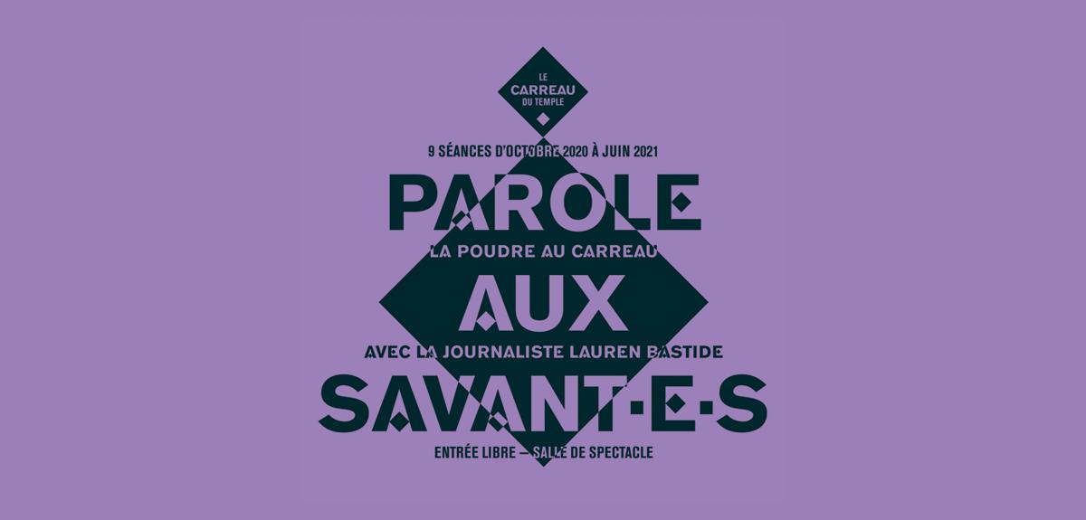 La Poudre au Carreau : Parole aux savant·e·s