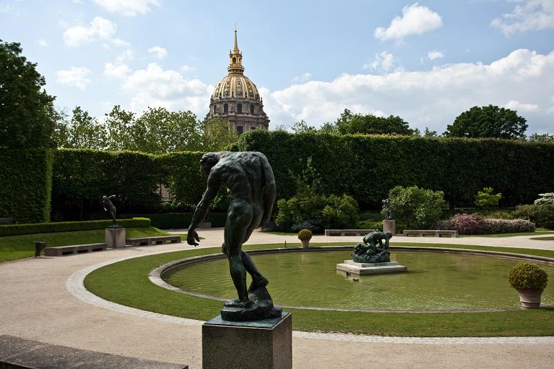 Jardín del Museo Rodin