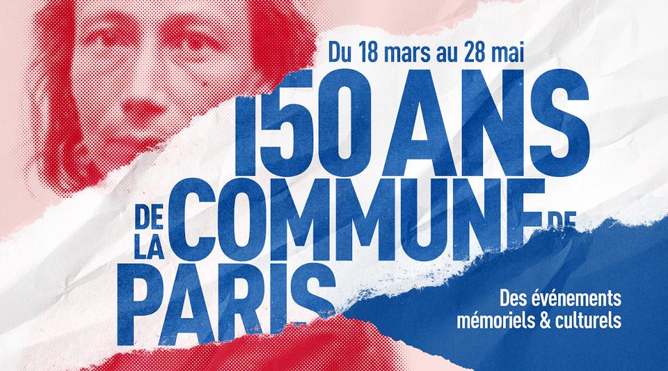 Visuel des 150 ans de la Commune de Paris