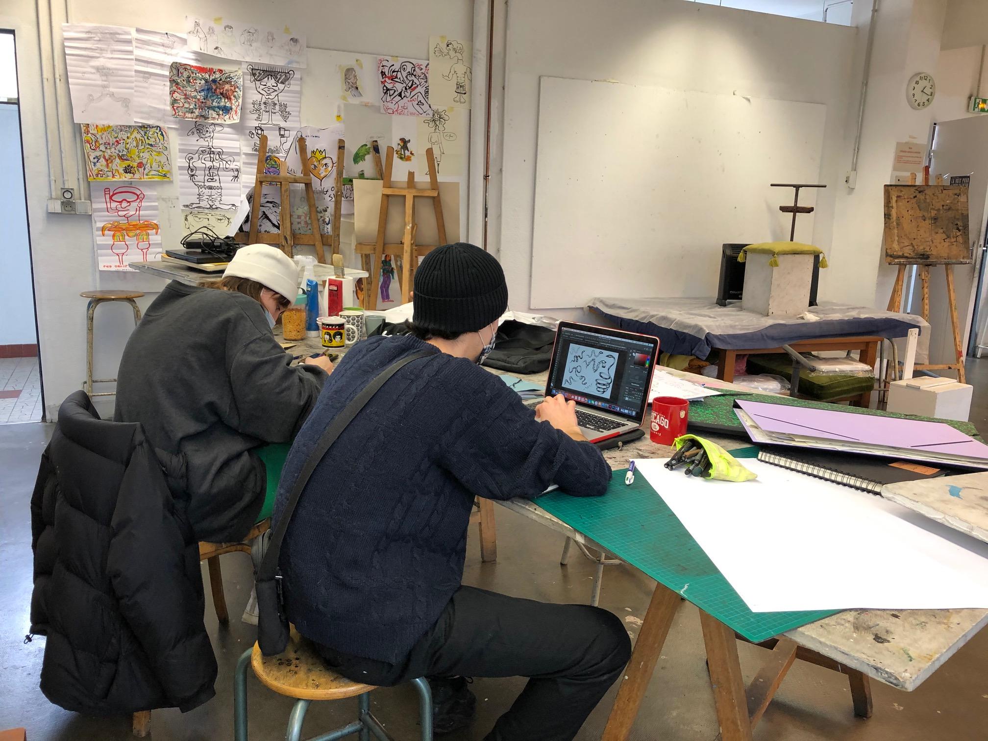 Classes préparatoires des ateliers beaux-arts de la Ville de Paris
