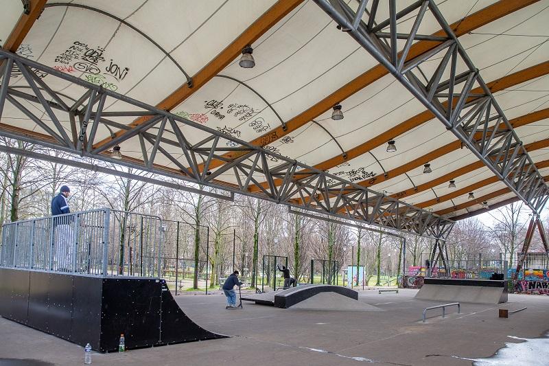 Skate parc de Paris Bercy
