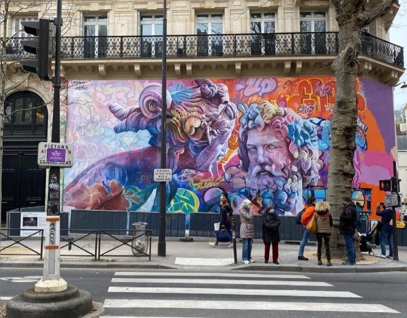 Fresque PichiAvo Paris 5