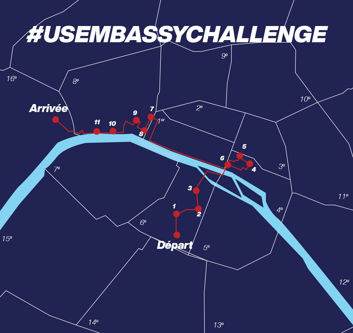 parcours #USEMBASSYCHALLENGE