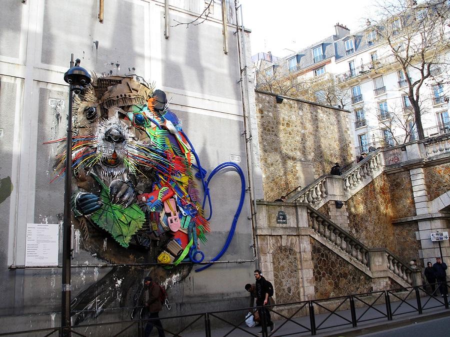 Sentier street art Paris 13e avec Helloways