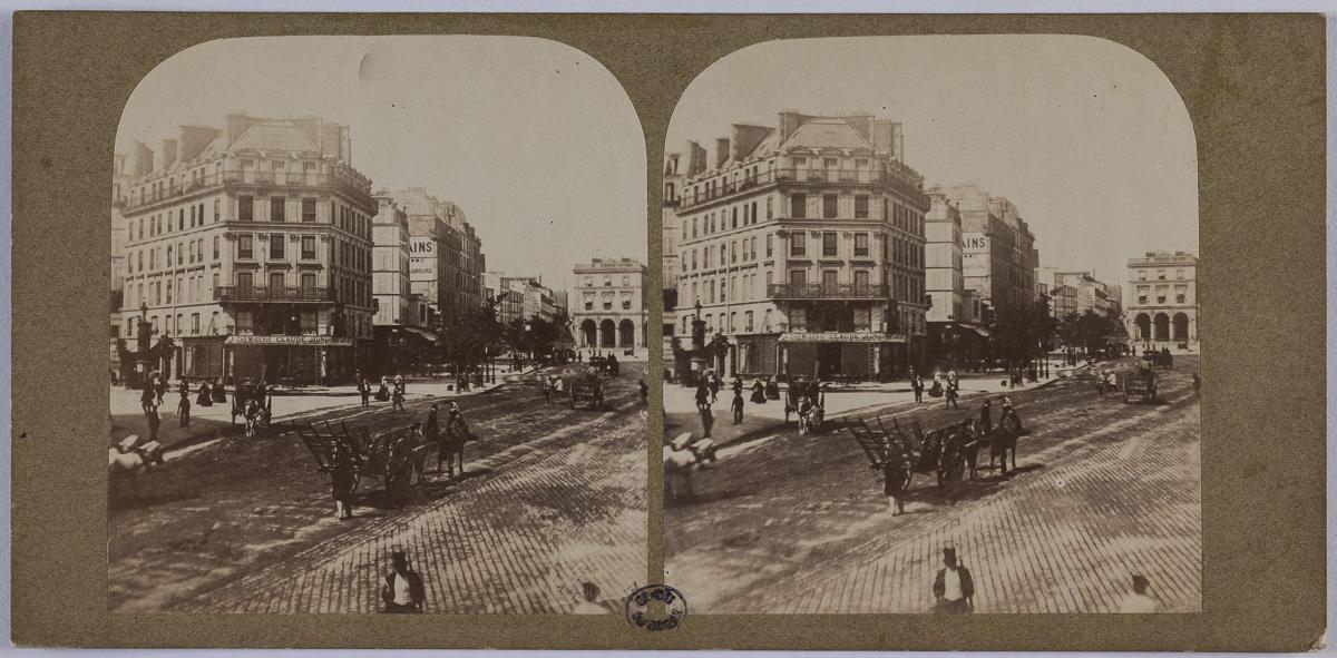 Gare de l'Est, 10ème arrondissement, Paris  Anonyme , Photographe  Entre 1850 et 1900  2e moitié du 19e siècle   Musée Carnavalet, Histoire de Paris