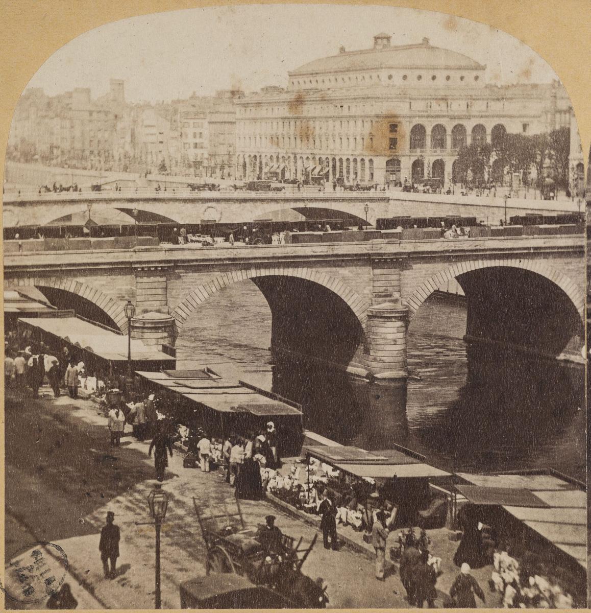 Théâtre du Châtelet.  Anonyme , Photographe  Entre 1860  2e moitié du 19e siècle   Musée Carnavalet, Histoire de Paris