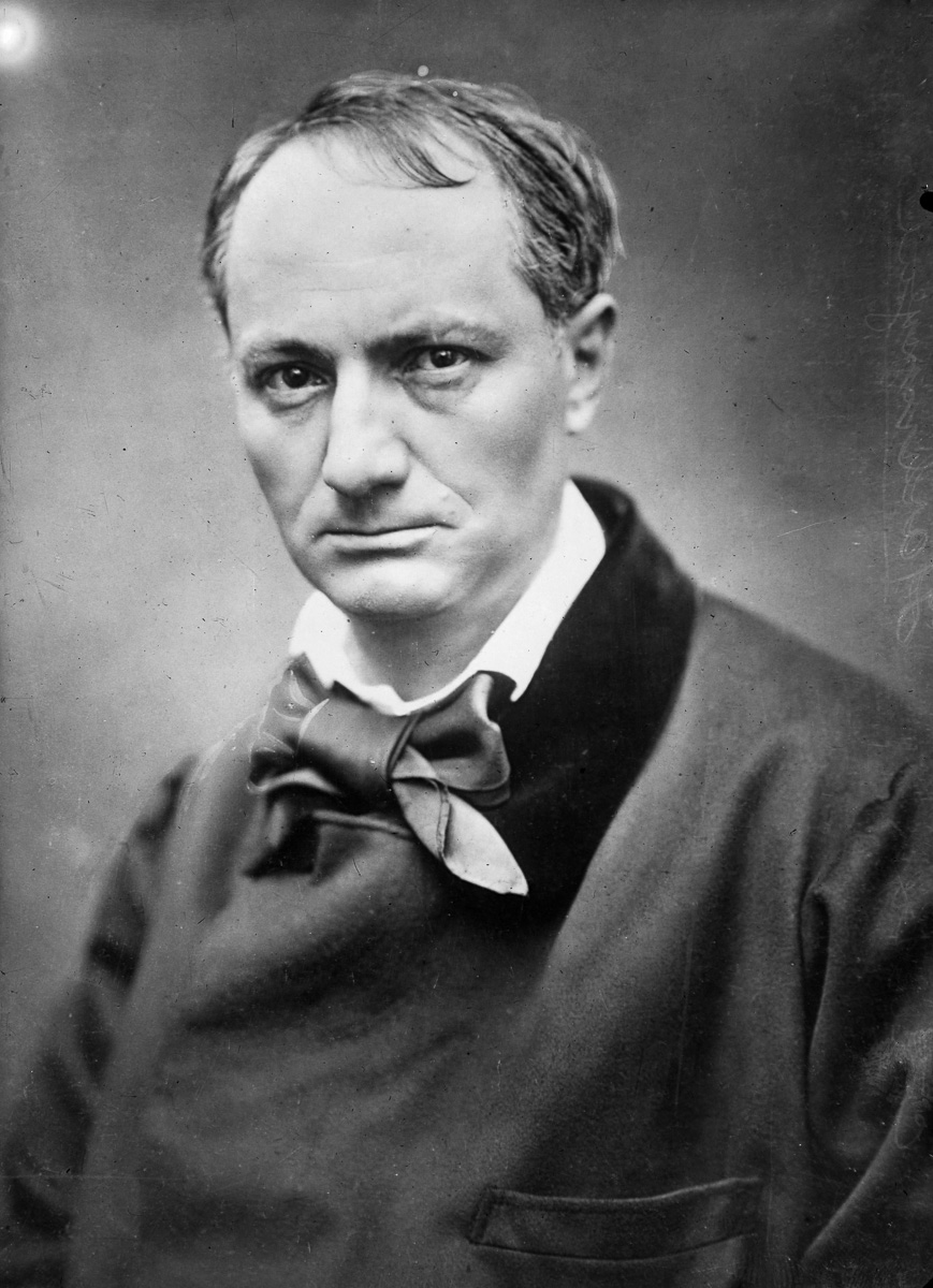 Charles Baudelaire (1821-1867), poète français.