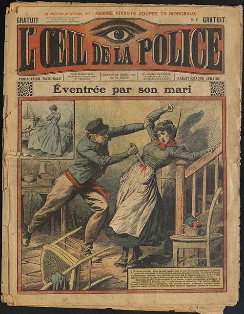 Oeil d ela police n°1 janvier 1908