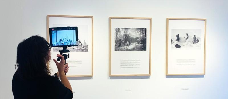 """Visite guidée de l'expo """"Histoire naturelle de l'architecture"""""""