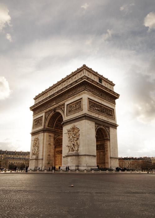 Visite guidées à distance de l'Arc de Triomphe